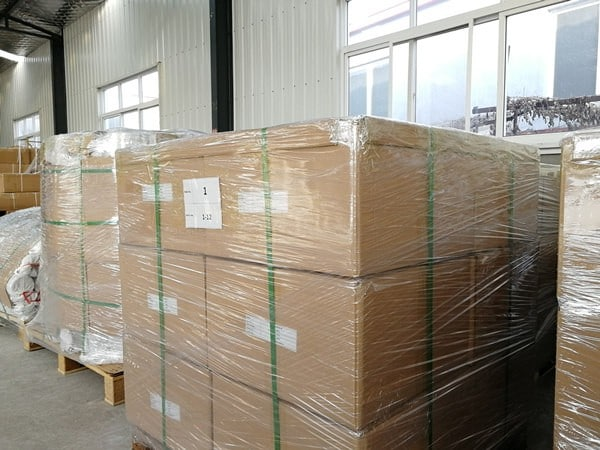 Package for sea shipment