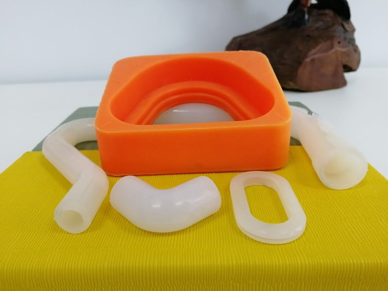 Custom molded silicone parts