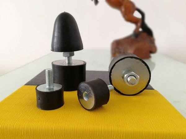 rubber-metal damper