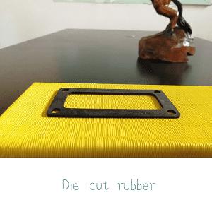die cut rubber homepage banner